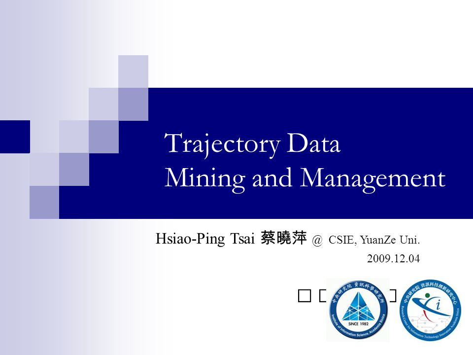 Trajectory Data Mining and Management