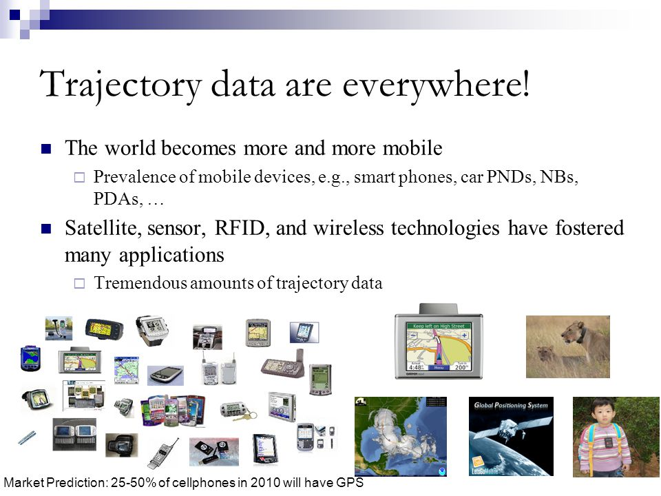 Trajectory data are everywhere!