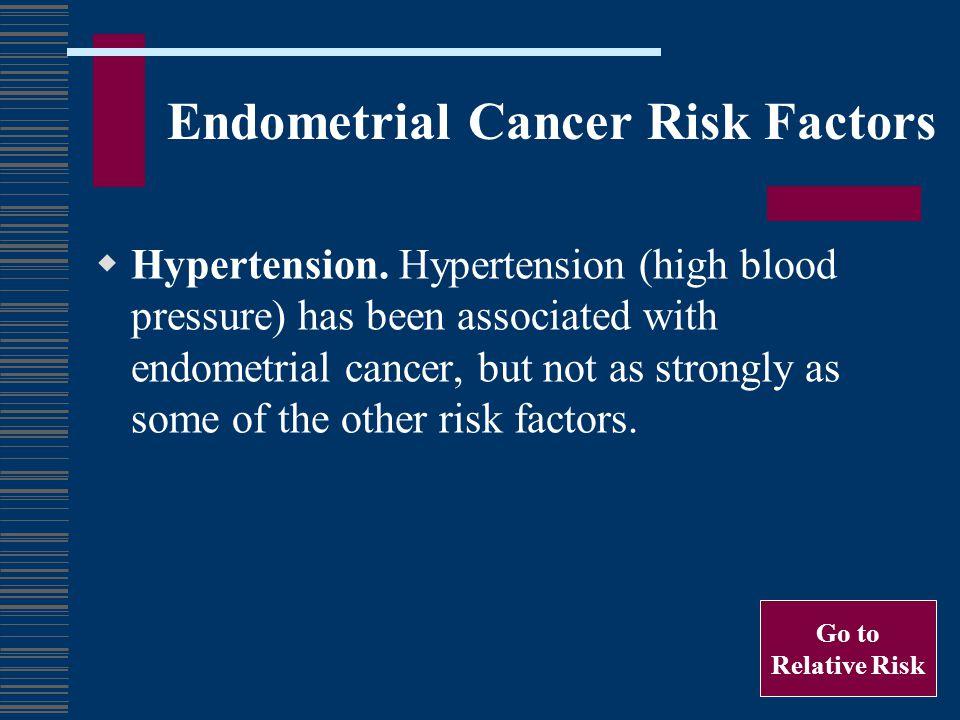 Endometrial Cancer Risk Factors