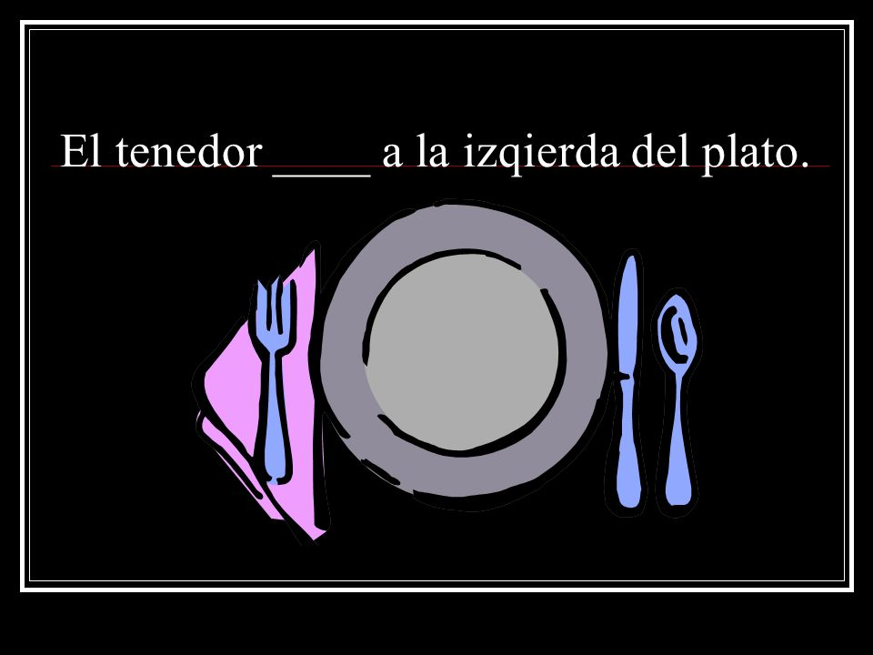 ser y estar con comida ppt video online download