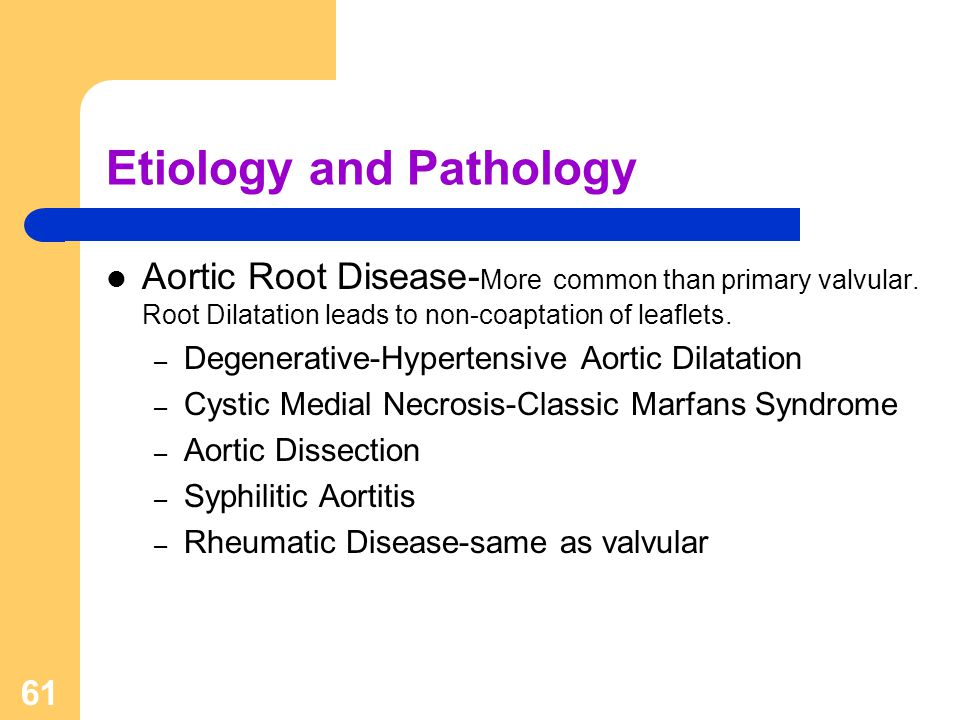 Etiology and Pathology