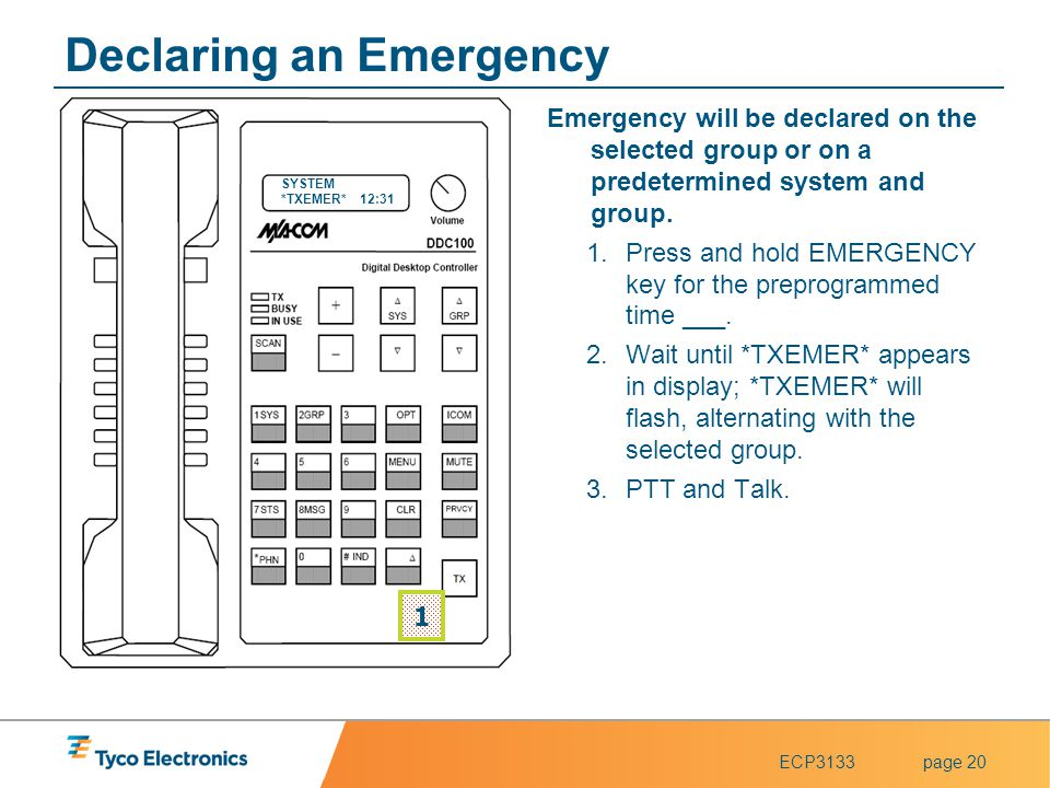 Declaring an Emergency