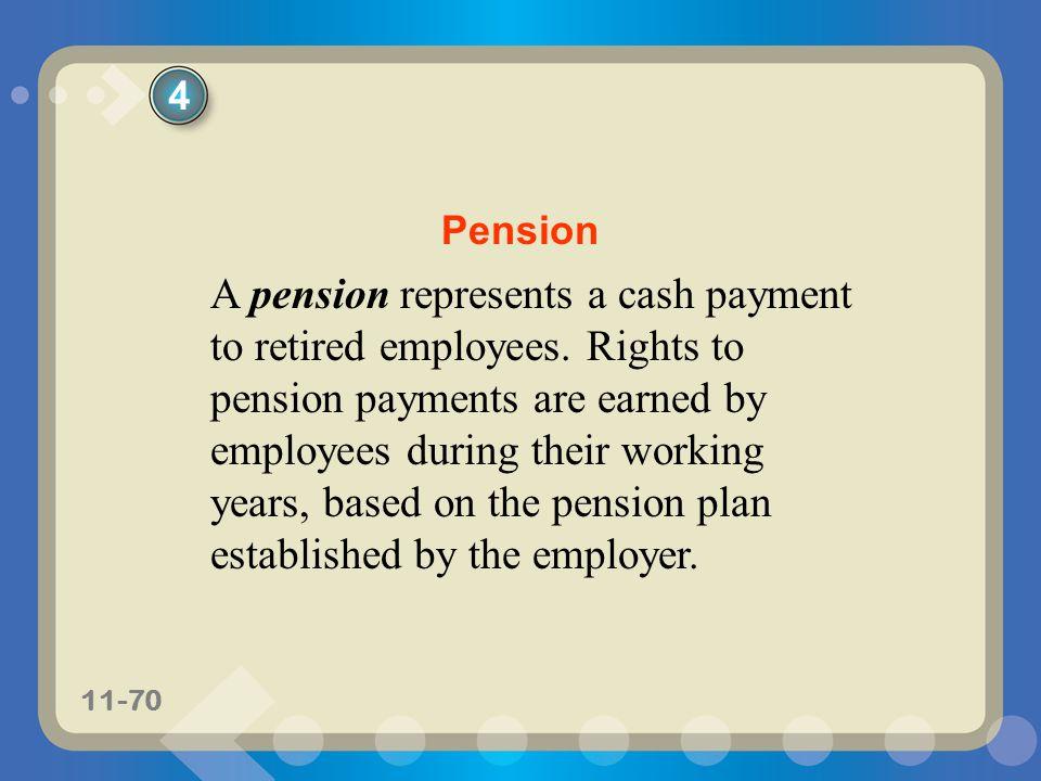 4 Pension.
