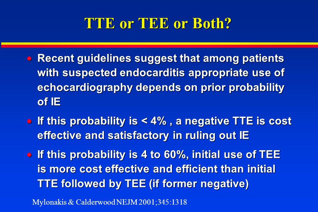TTE or TEE or Both