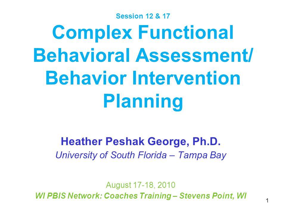 Heather Peshak George, Ph.D.