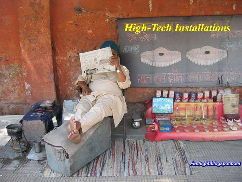 High-Tech Installations