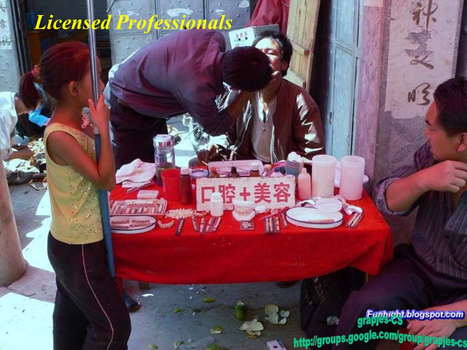 Licensed Professionals
