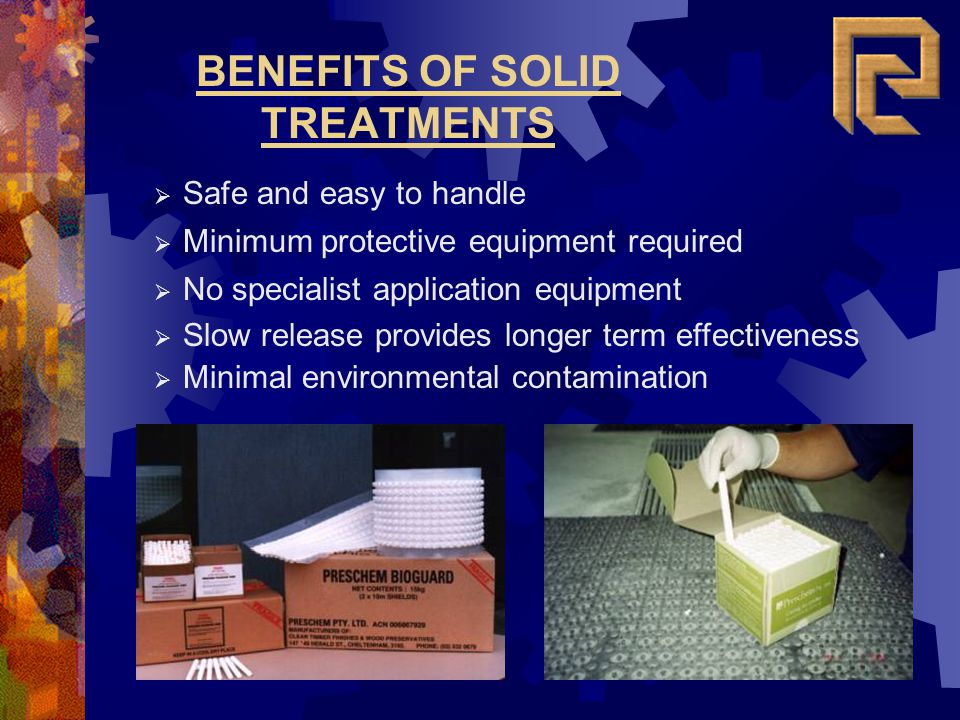 BENEFITS OF SOLID TREATMENTS