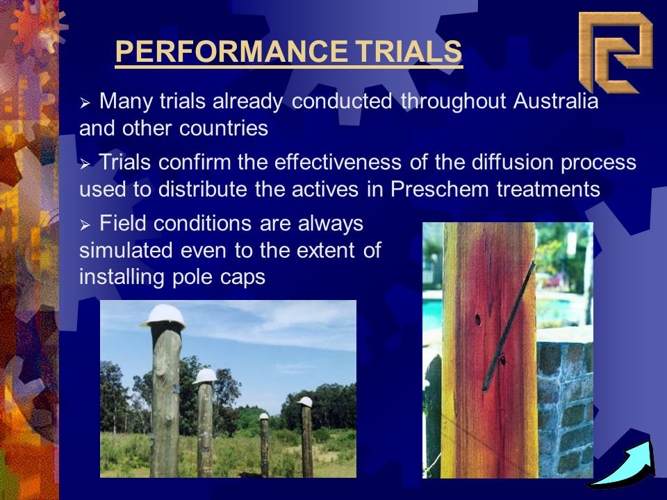 Many trials already conducted throughout Australia and other countries