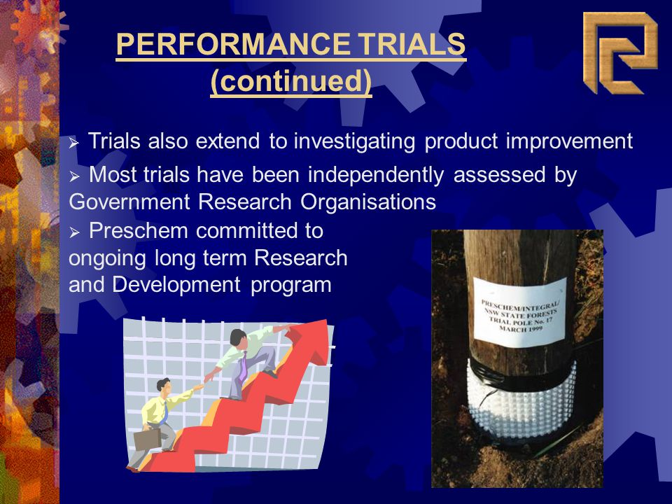 PERFORMANCE TRIALS (continued)