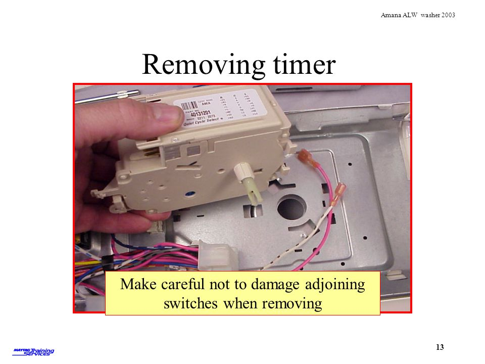 Make careful not to damage adjoining switches when removing