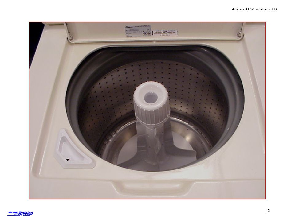 The washer has a Stainless steel tub.