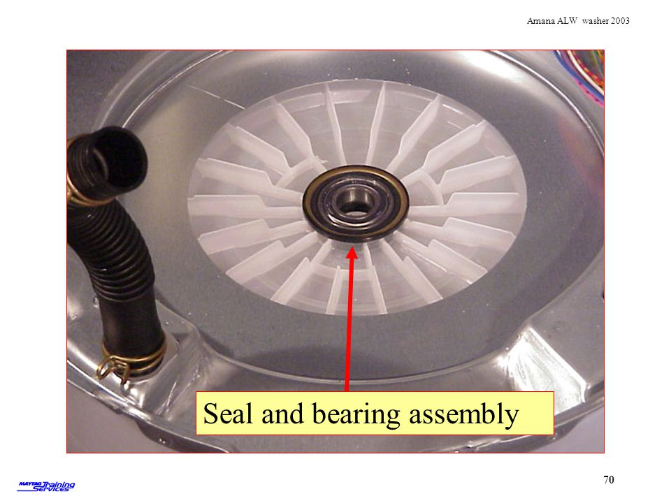 Tub seal and bearing Seal and bearing assembly Seal assembly