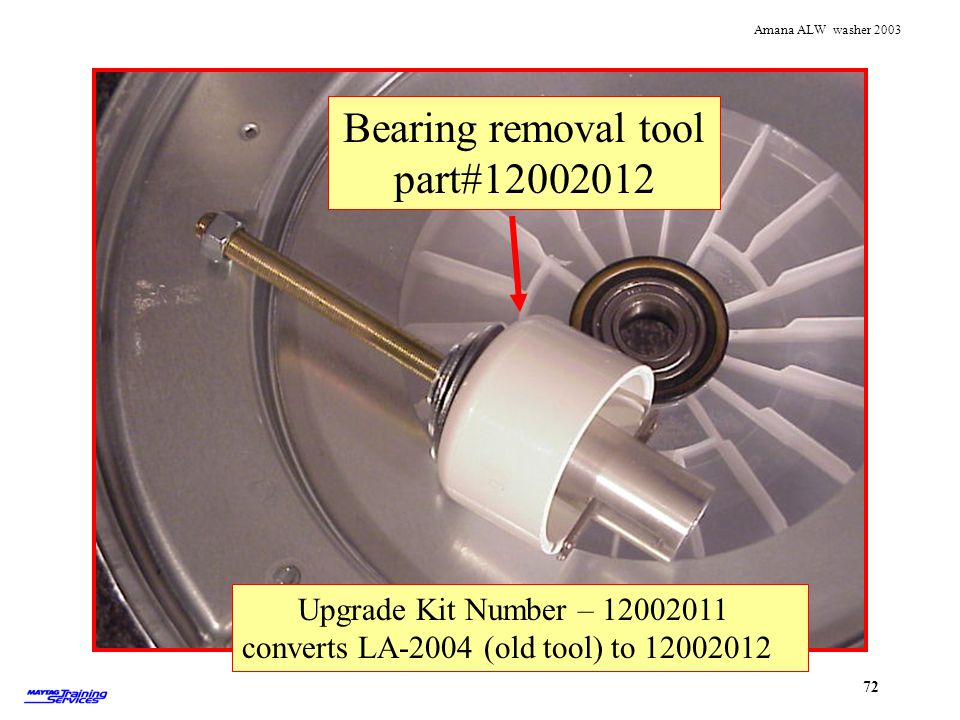 Bearing removal tool part#12002012