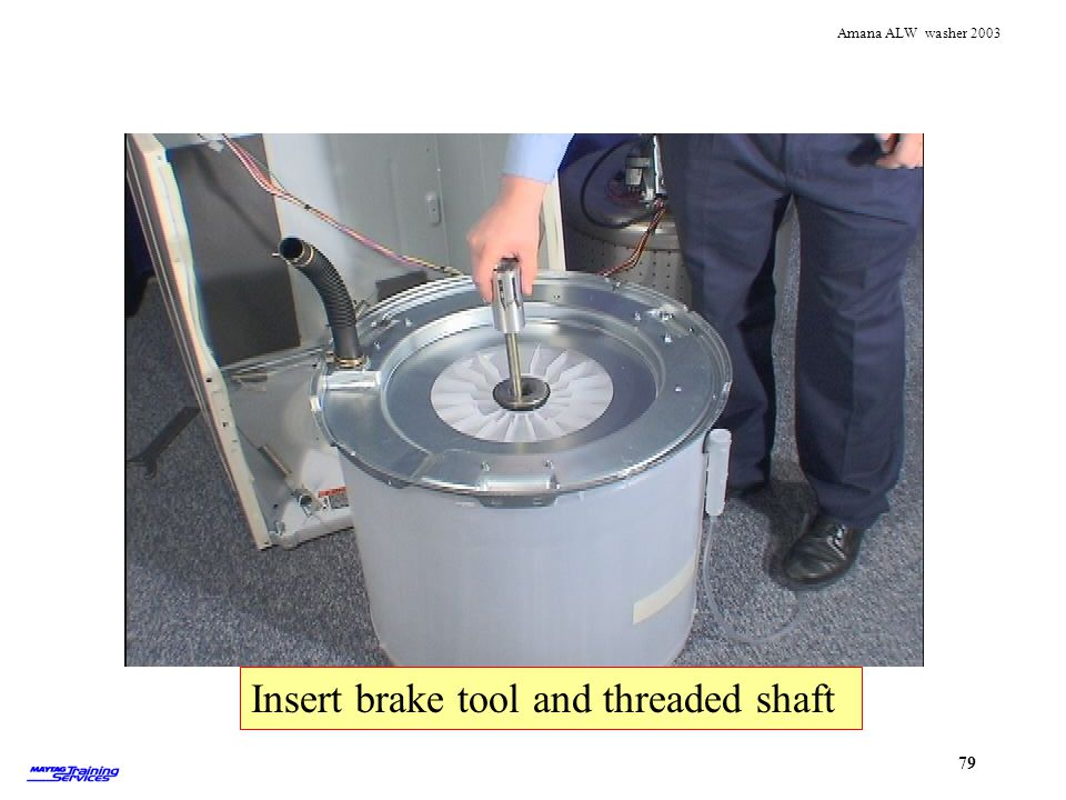 Insert brake tool and threaded shaft