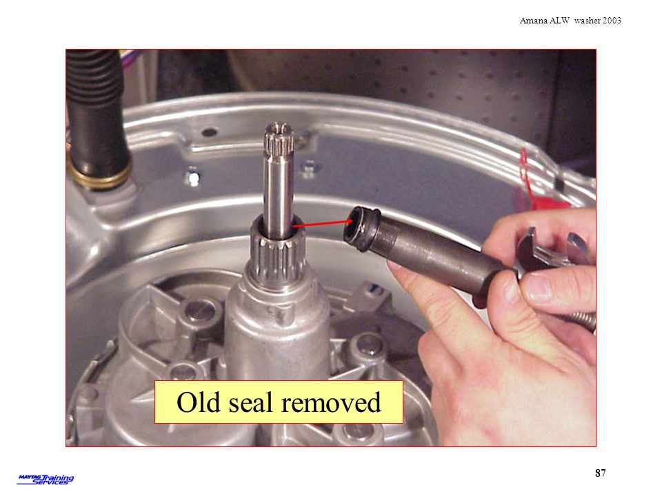 Seal removed Old seal removed Seal removed