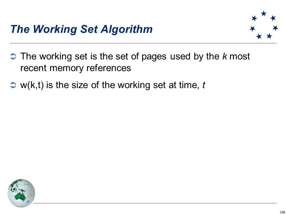 The Working Set Algorithm