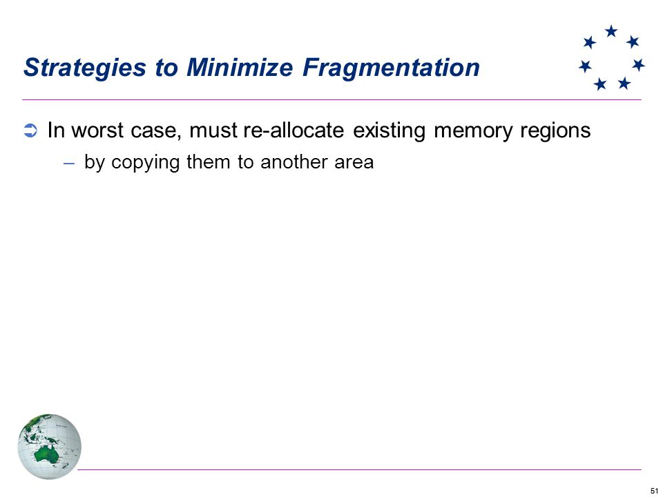 Strategies to Minimize Fragmentation
