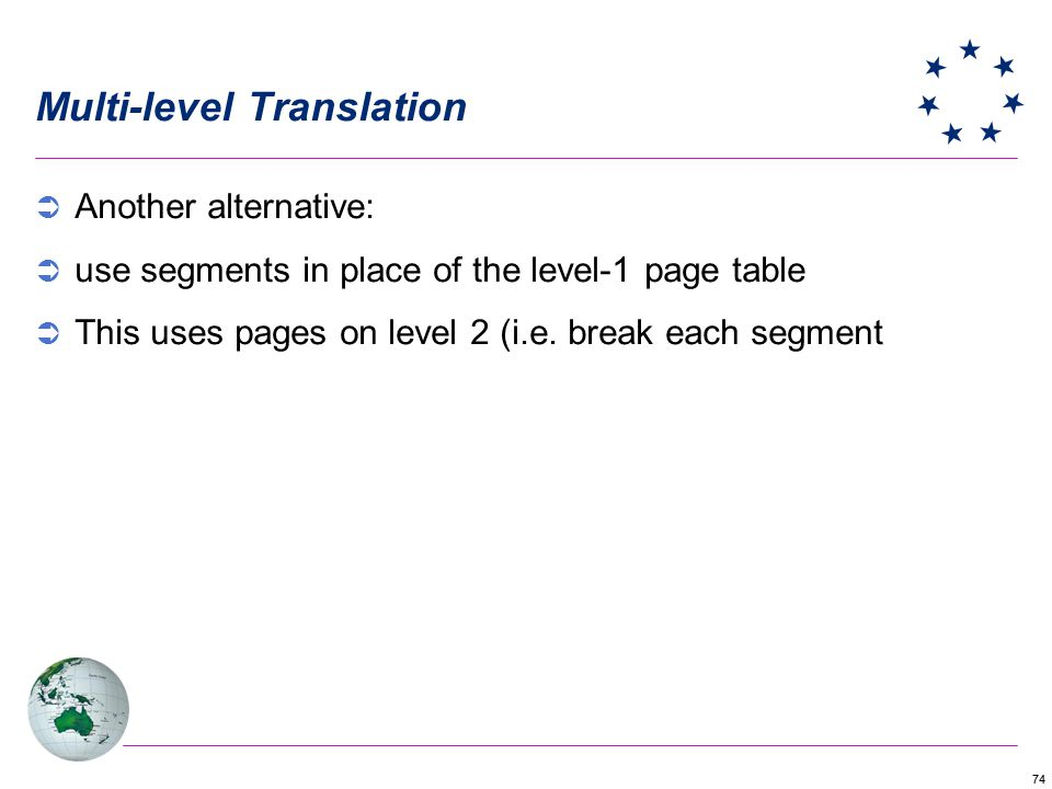 Multi-level Translation