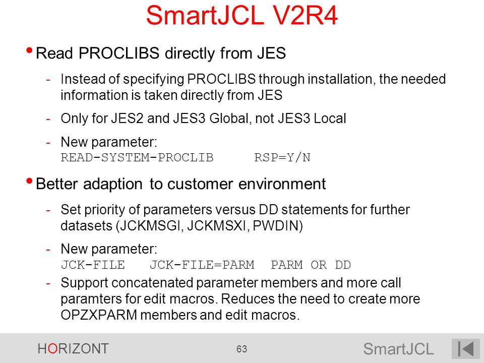 SmartJCL V2R4 Read PROCLIBS directly from JES