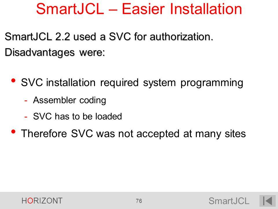 SmartJCL – Easier Installation