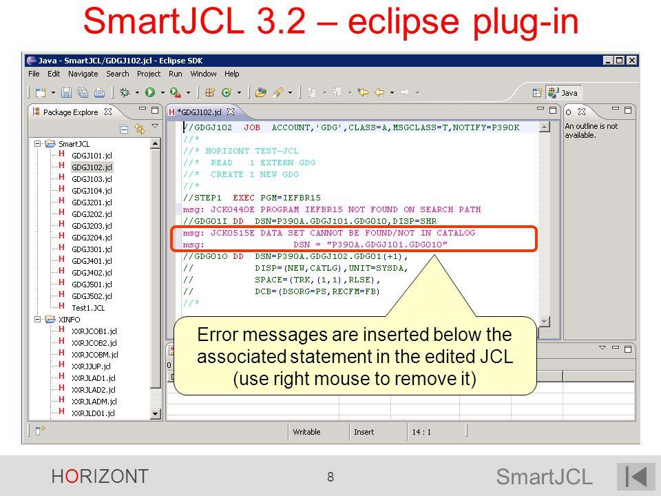 SmartJCL 3.2 – eclipse plug-in