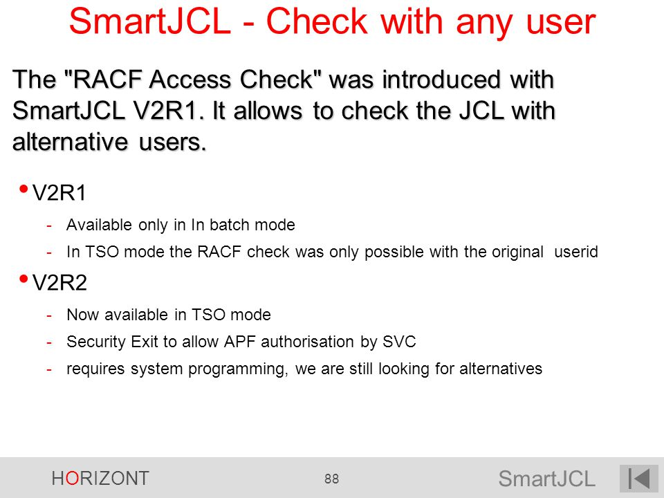 SmartJCL - Check with any user
