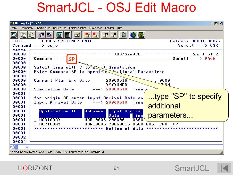 SmartJCL - OSJ Edit Macro