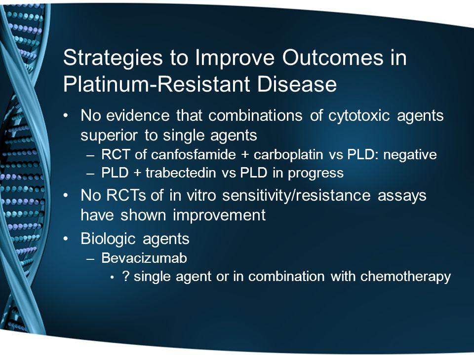 Strategies to Improve Outcomes in Platinum-Resistant Disease