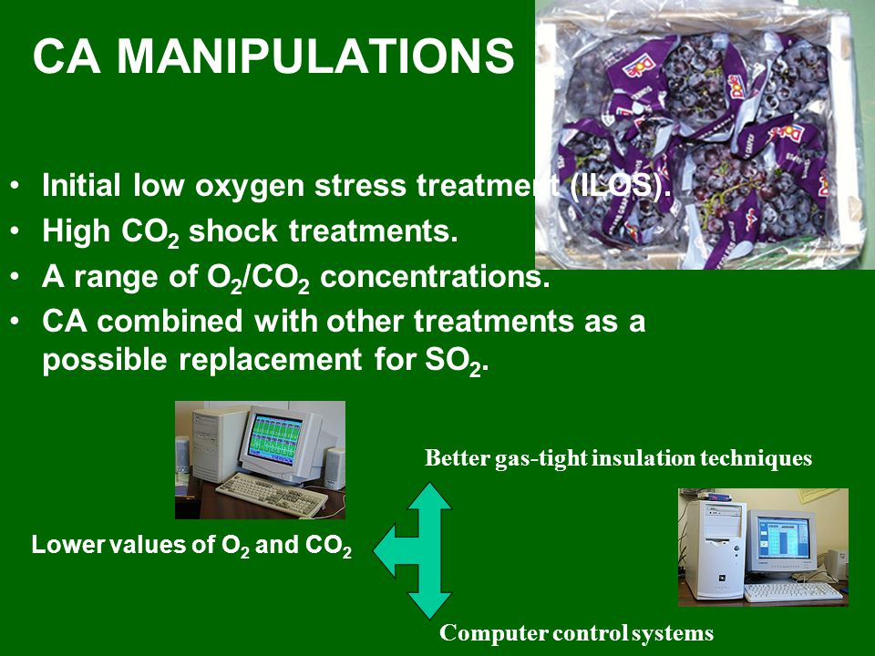 CA MANIPULATIONS Initial low oxygen stress treatment (ILOS).