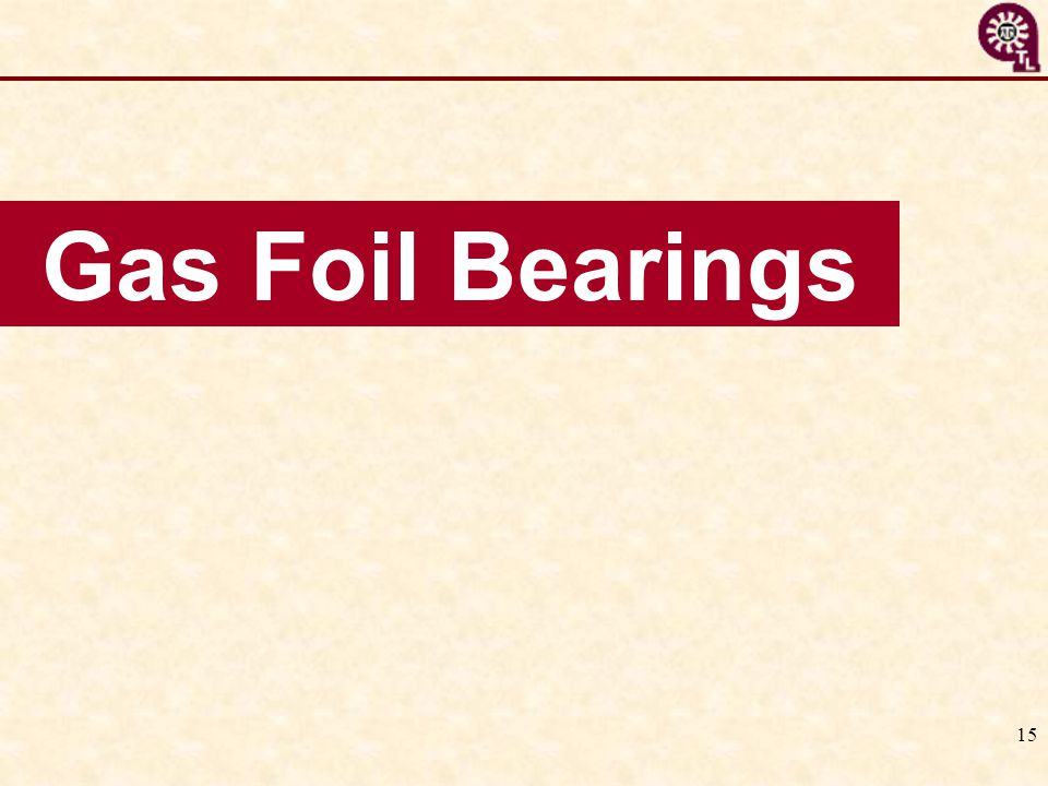 Gas Foil Bearings