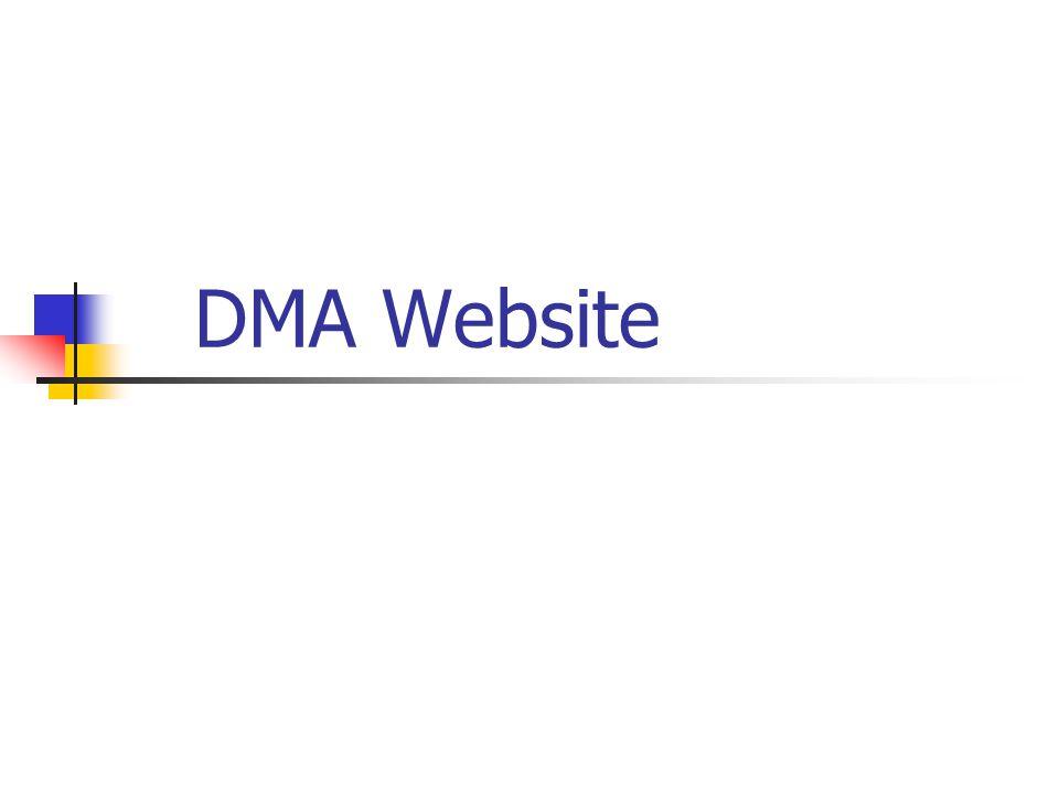 DMA Website