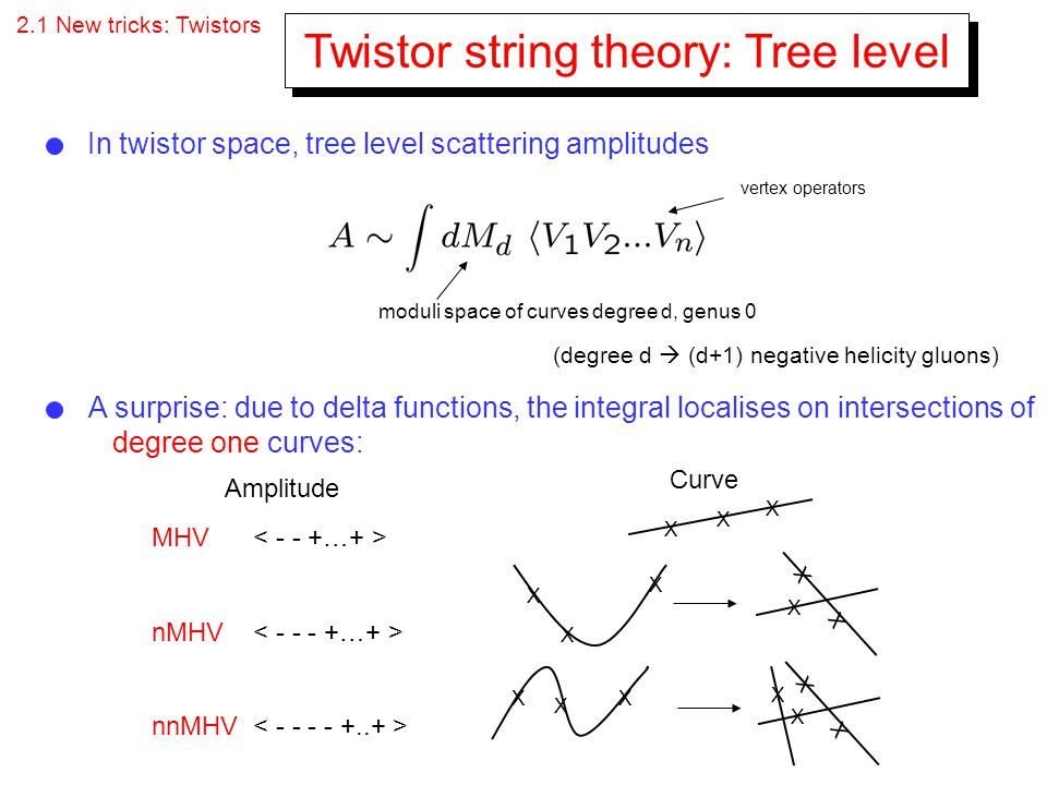 Twistor string theory: Tree level