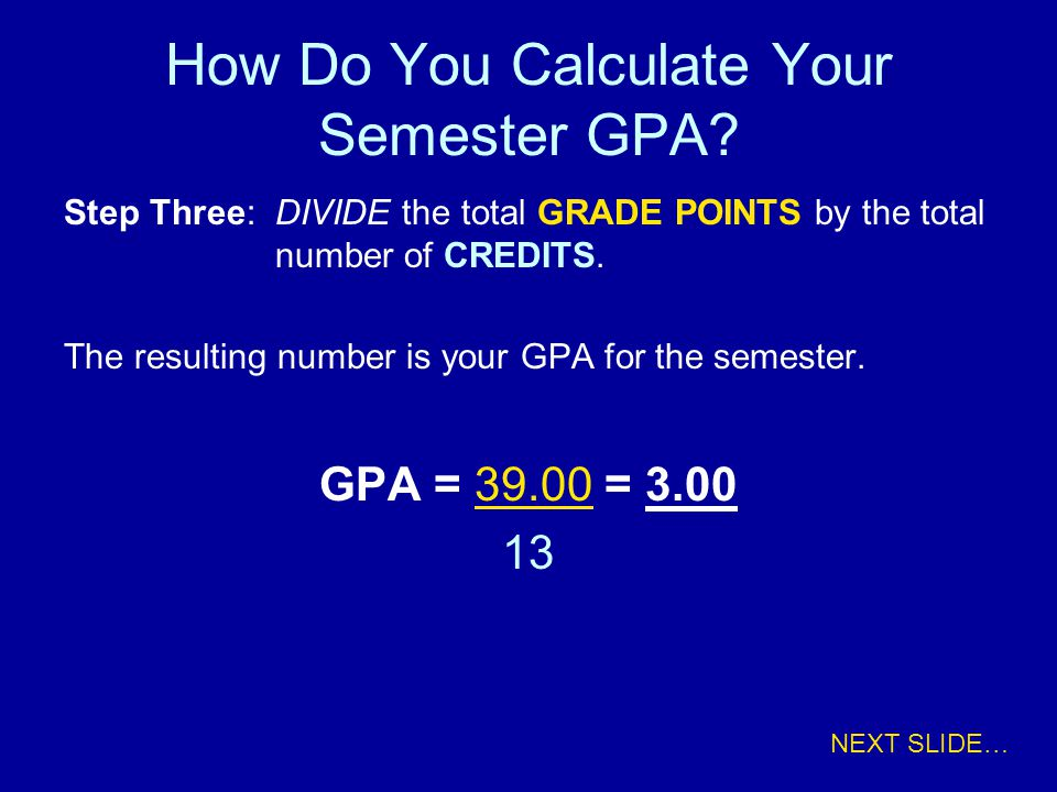 How Do You Calculate Your Semester GPA