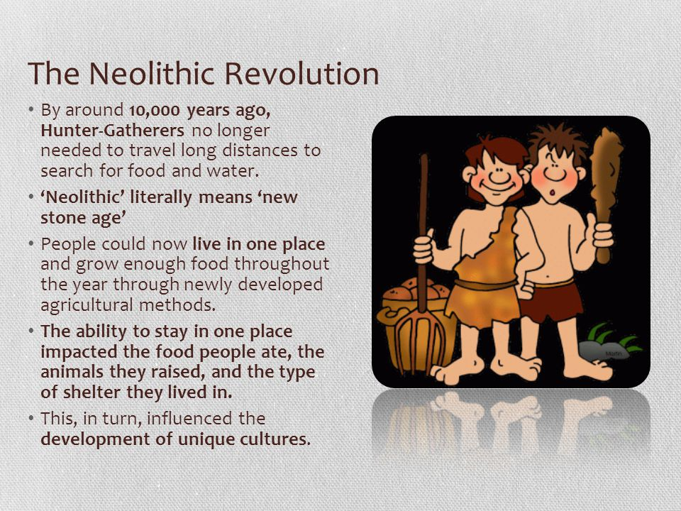neolithic revolution essay introduction
