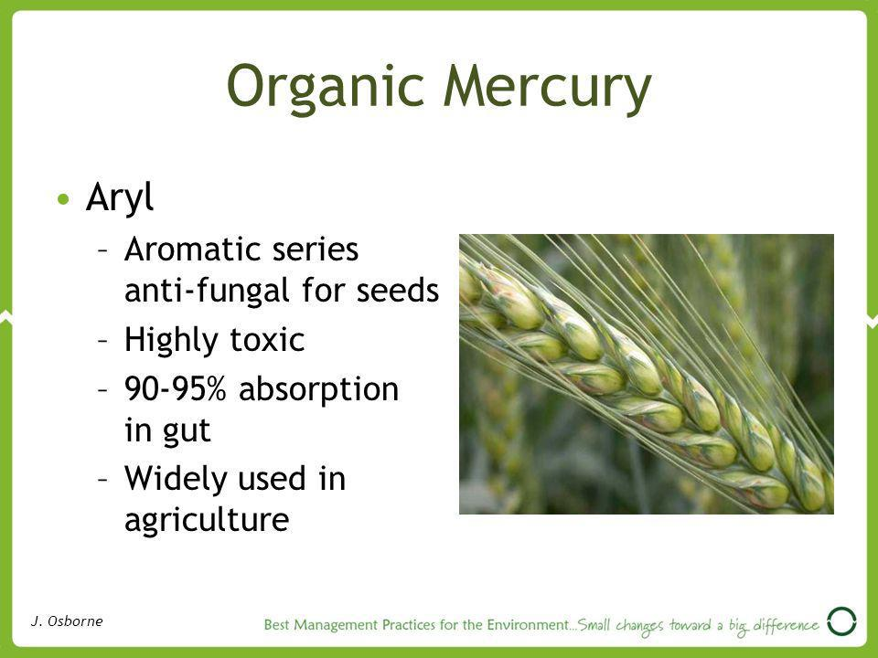 Organic Mercury Aryl Aromatic series anti-fungal for seeds