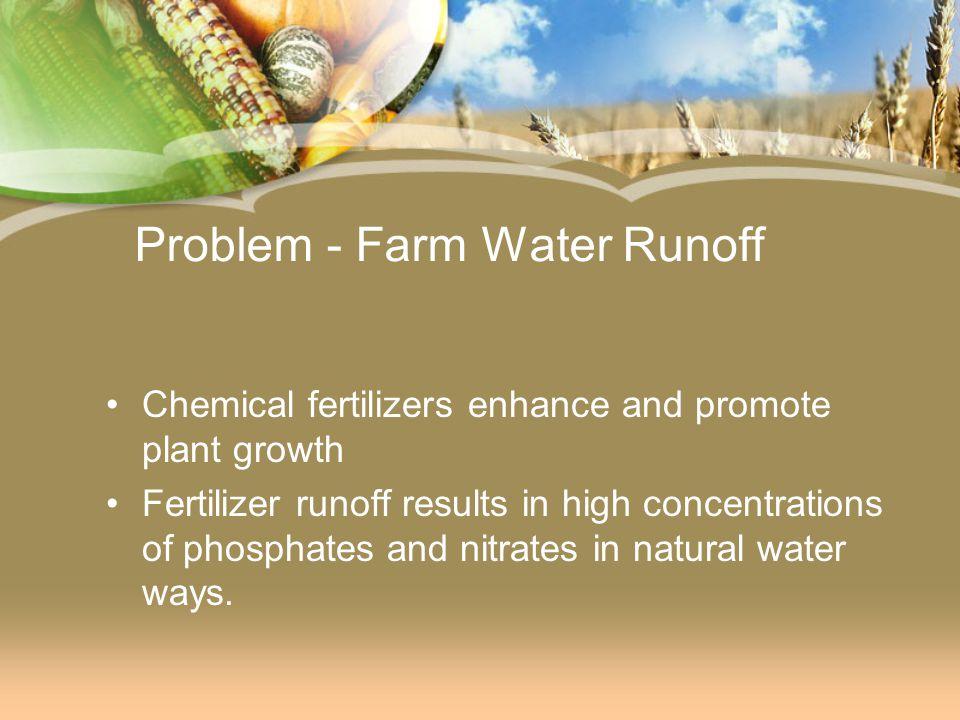 Problem - Farm Water Runoff