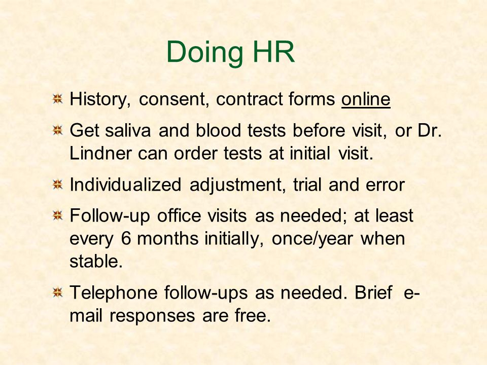 Doing HR History, consent, contract forms online