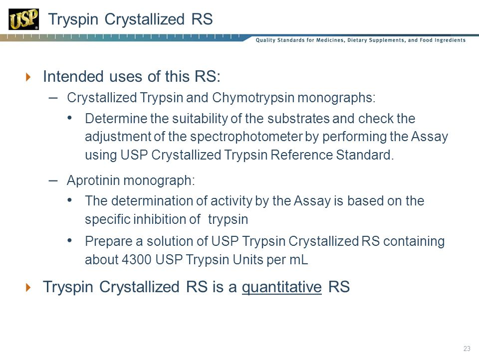 Tryspin Crystallized RS