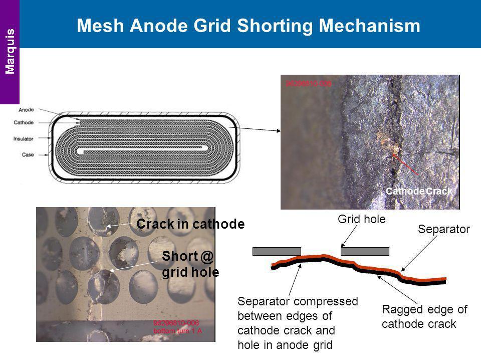 Mesh Anode Grid Shorting Mechanism