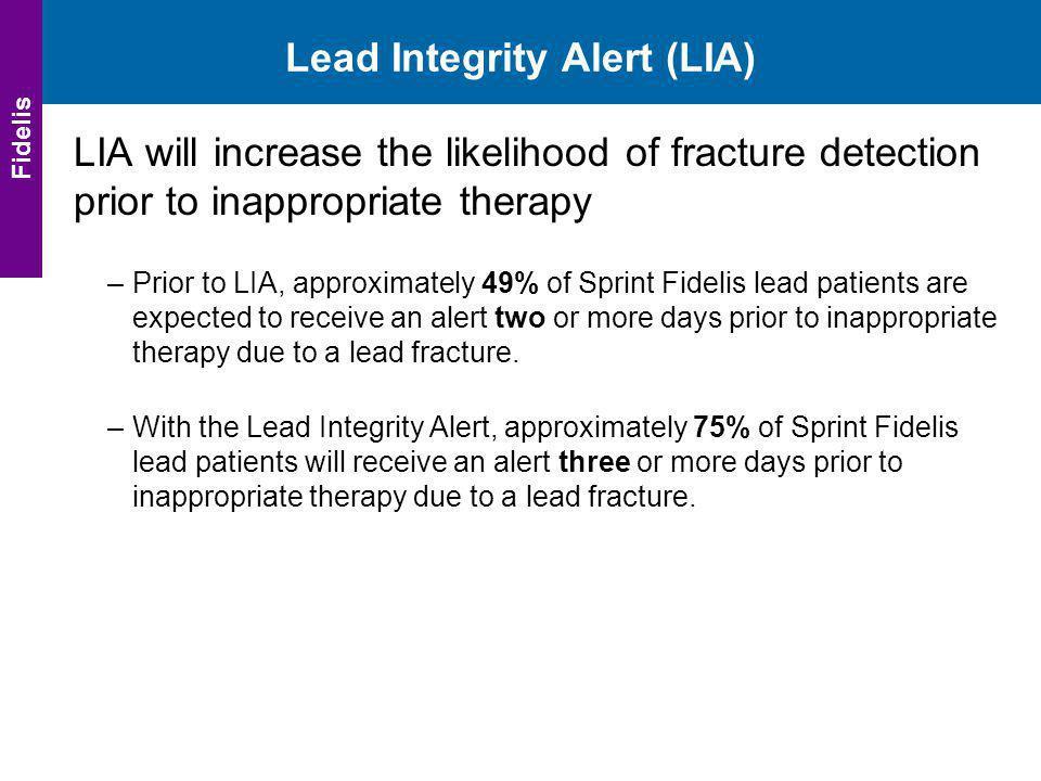 Lead Integrity Alert (LIA)