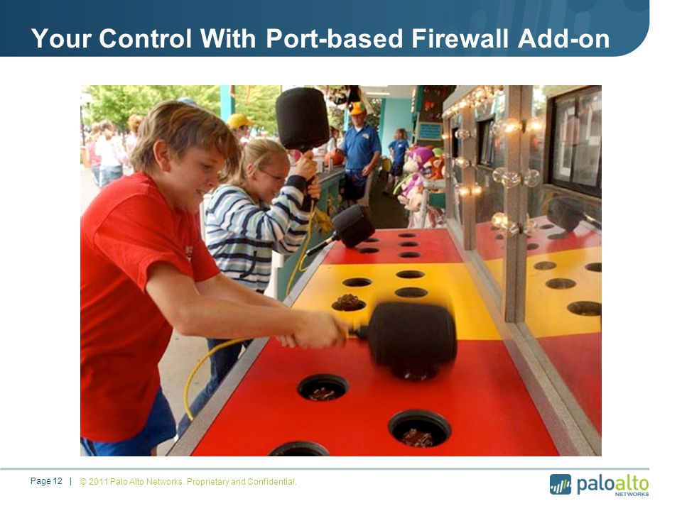 Your Control With Port-based Firewall Add-on