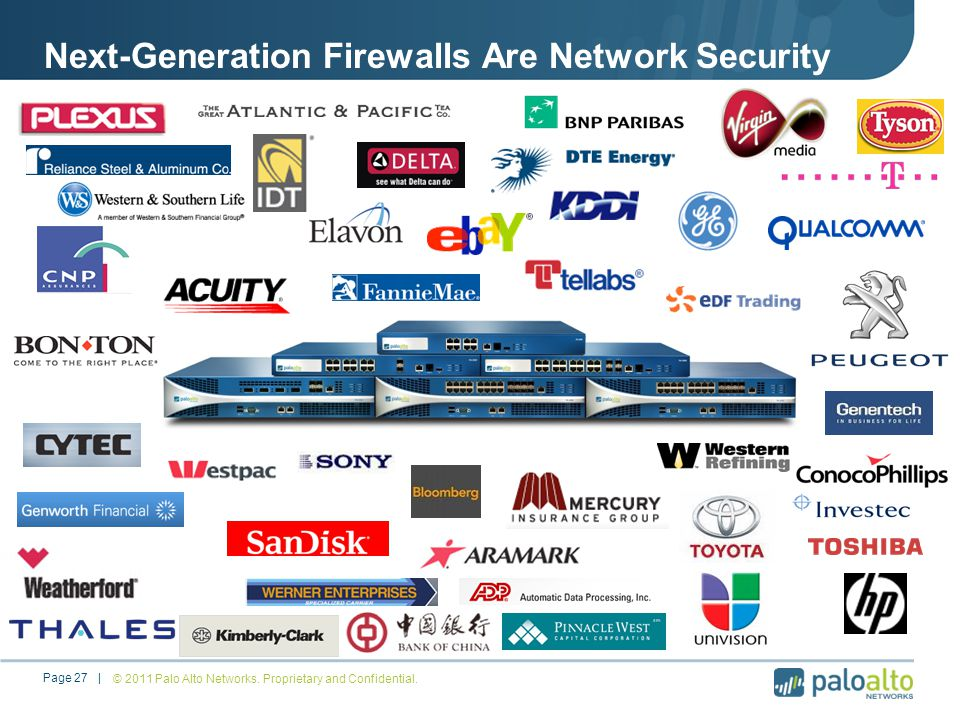 Next-Generation Firewalls Are Network Security