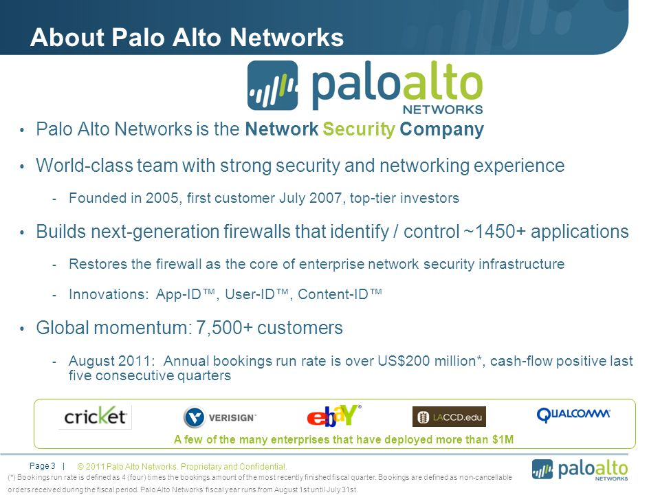 About Palo Alto Networks