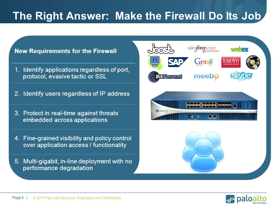 The Right Answer: Make the Firewall Do Its Job