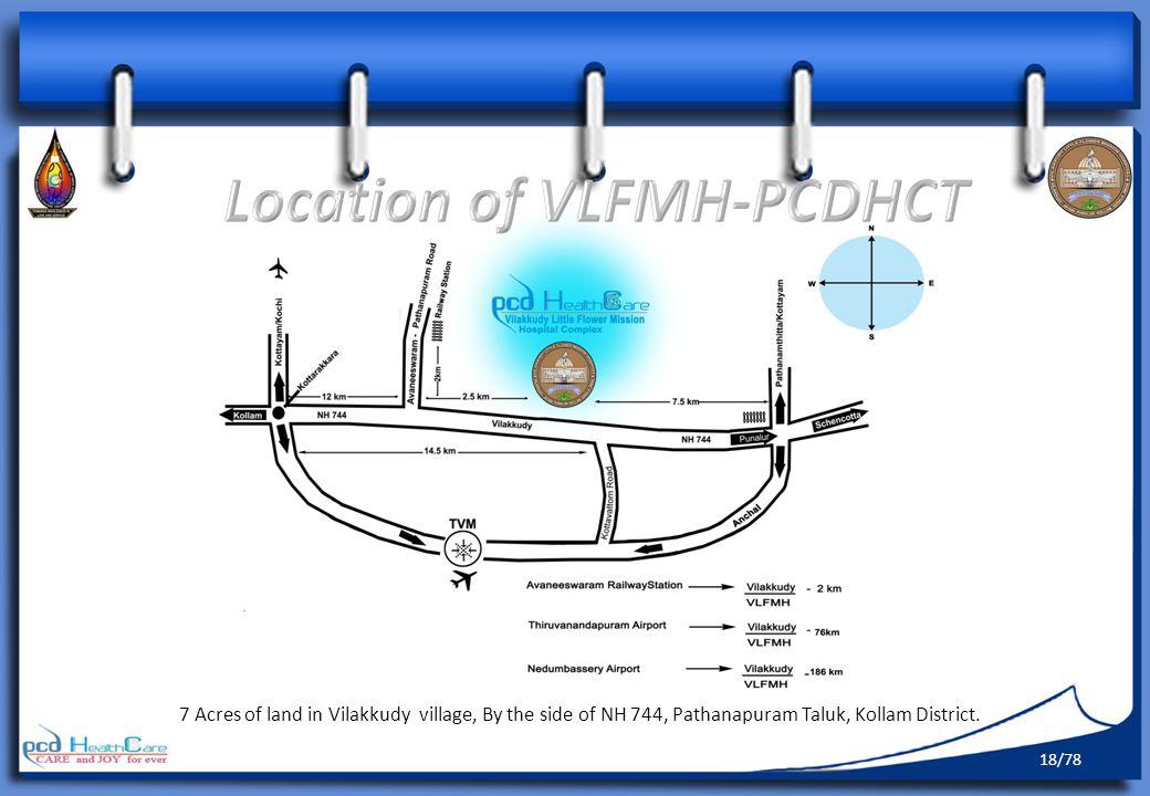Location of VLFMH-PCDHCT