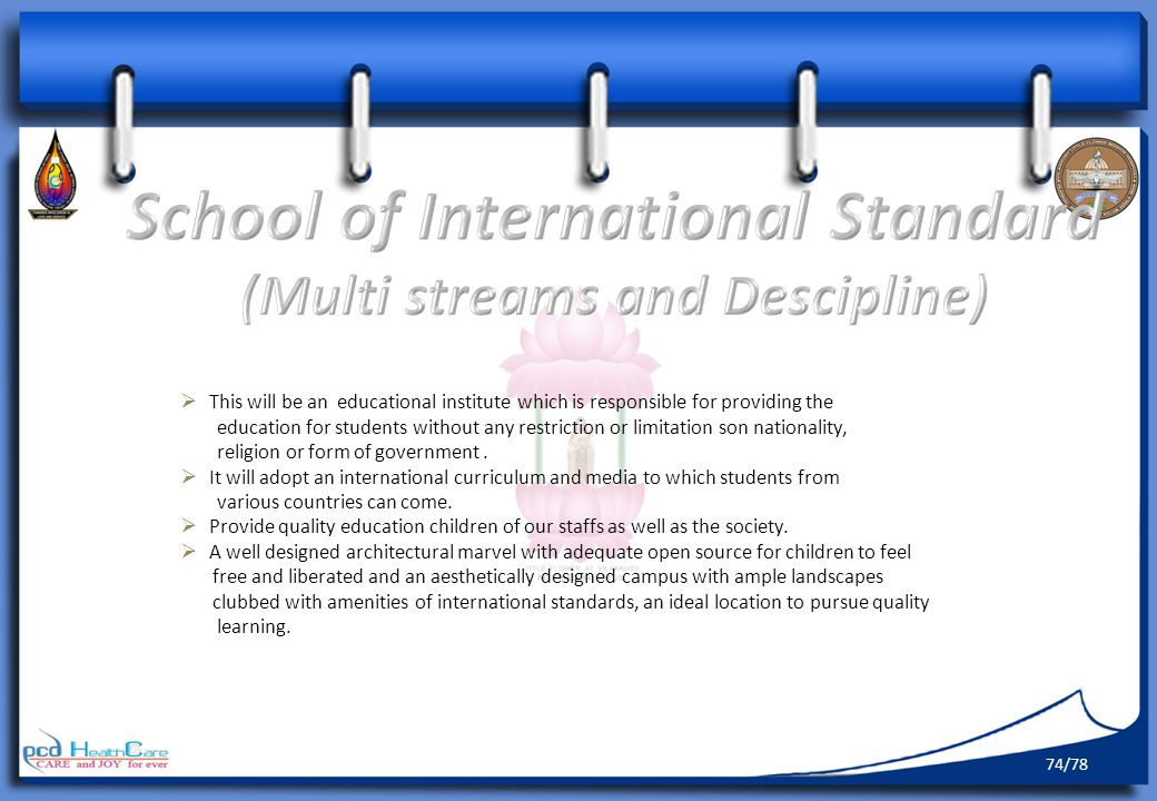 School of International Standard (Multi streams and Descipline)