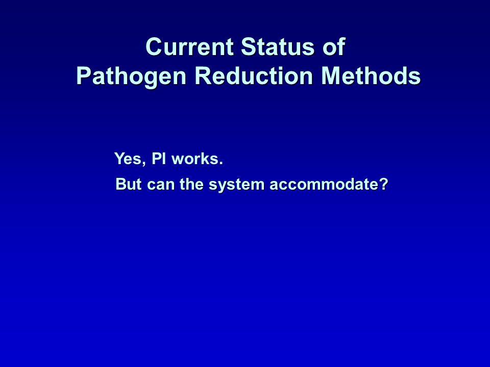 Pathogen Reduction Methods