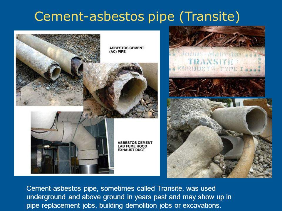 Cement-asbestos pipe (Transite)
