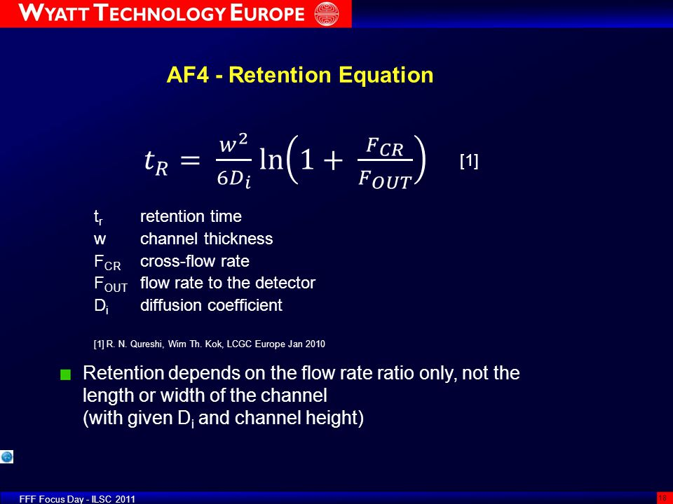 AF4 - Retention Equation